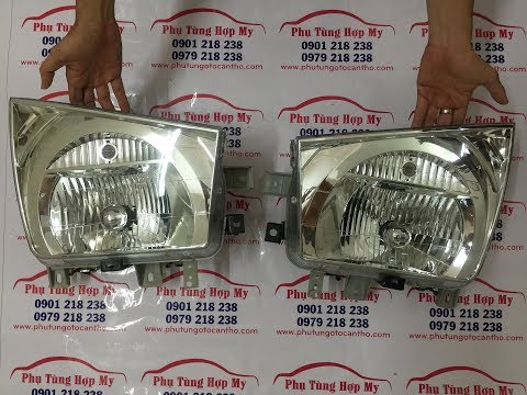 Đèn Pha Xe Tải Hyundai HD72 3,5 Tấn | Đèn Pha Xe Tải Hyundai Thaco HD650 6,5 Tấn - 0901218238