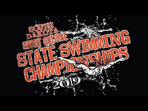 South Dakota Short Course State A Swim Meet - Day 1Finals