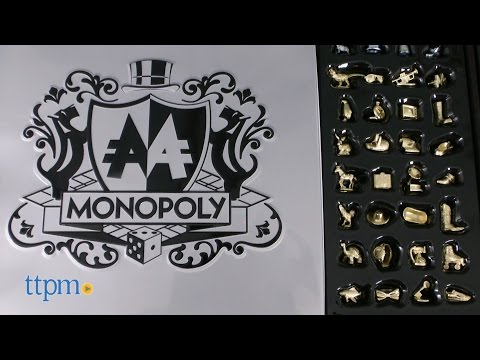 Monopoly Signature Token Edition From Hasbro