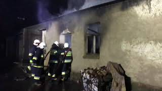 Pożar w Żakowie