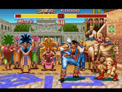 Super Street Fighter II - SNES - Intro