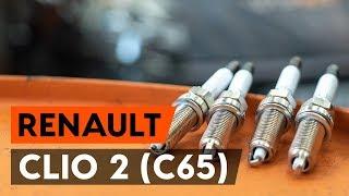 Kako zamenjati vžigalne svečke na RENAULT CLIO 2 (C65) [VODIČ AUTODOC]