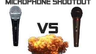 Dynamic Microphone Shootout: Shure PG58 vs Dixon MD1178