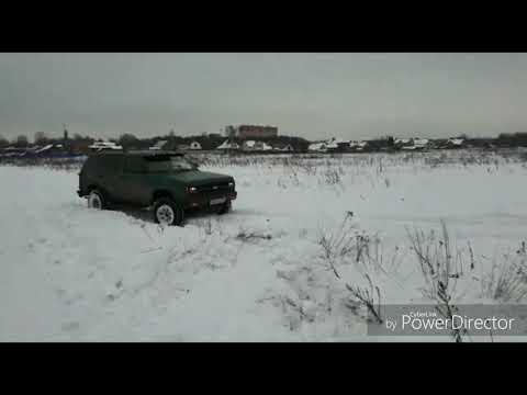 Chevrolet Blazer S10 на 32 колесах против буханки на 33 с цепями