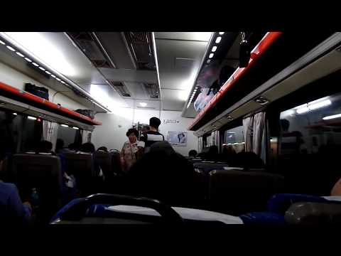 from Seoul Yongsan  to Jeonju by Express Train . North Jeolla Prov.  全羅北道 .전주. Jeonju . KOREA