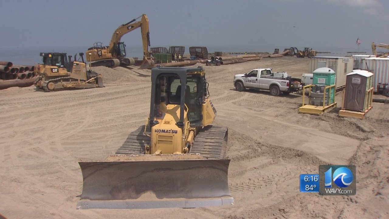 Inside the dredging of the Ocean View beach replenishment project