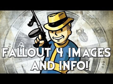 FALLOUT 4: Leaked Images, New Info, and New Website Message! - 동영상
