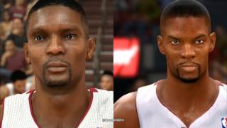 NBA 2K14 vs. NBA Live 14 Graphics and Face Comparison PS4/Xbox One Footage