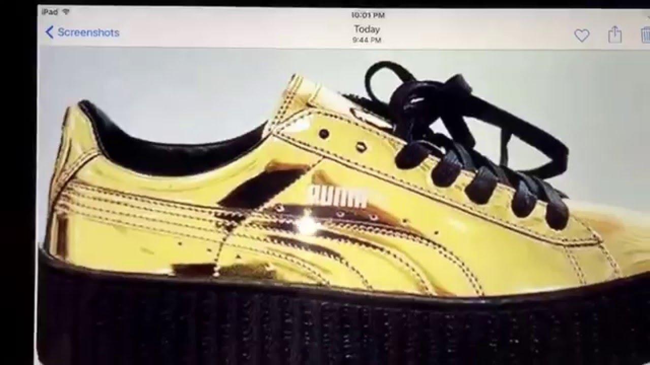 Puma Fenty Gold