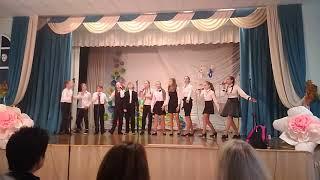 Концерт ко дню учителя | 7 класс | песня перемена