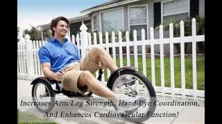 Recumbent Bike For Sale - Best 3 Wheel Recumbent Bicycle