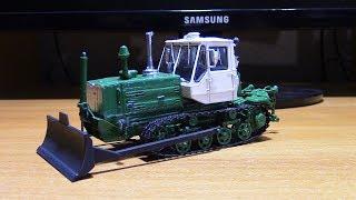Складання моделі трактора Т-150Д AVD models