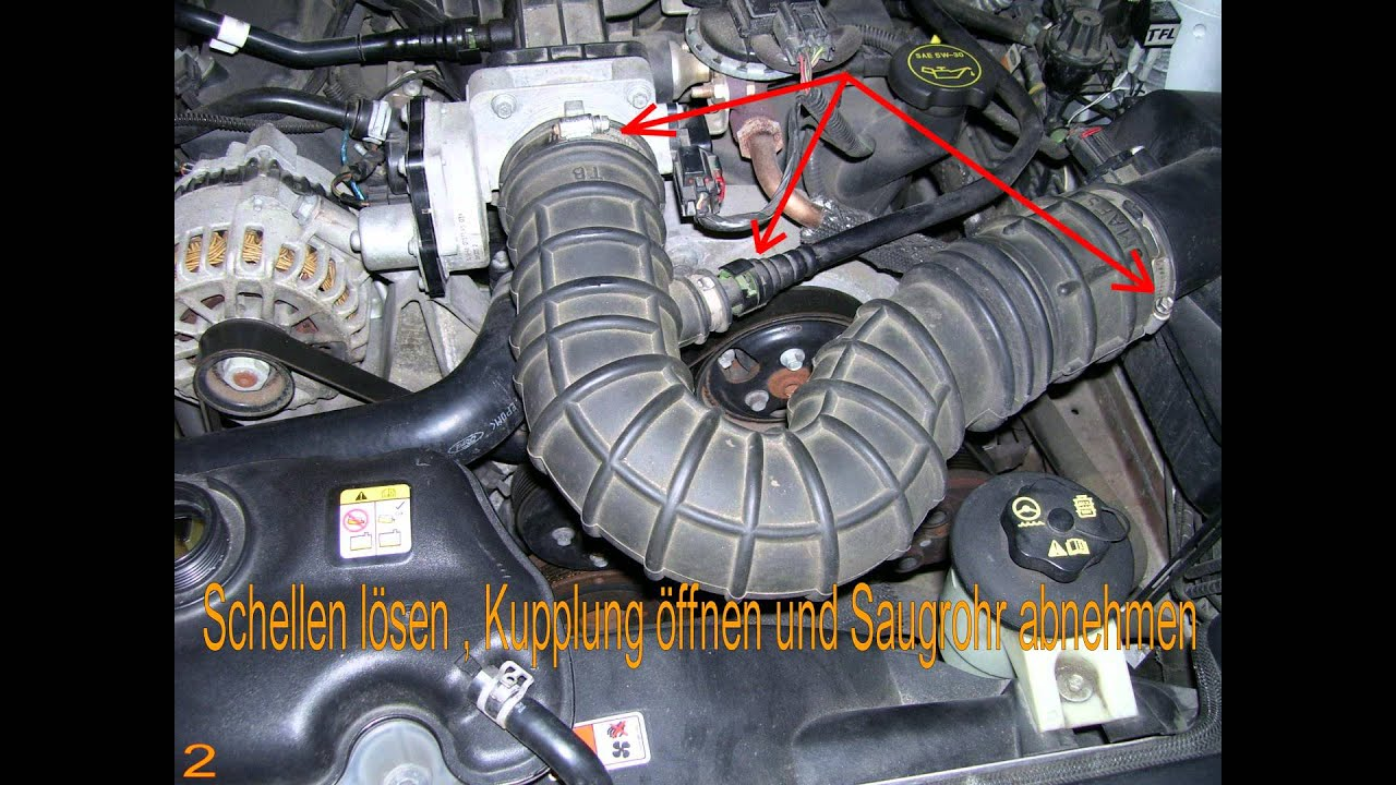 how to ford mustang 2005 v6 thermostat replacement youtube rh youtube com Ford 3.0 V6 Engine Diagram 2003 Mustang V6 Engine Diagram