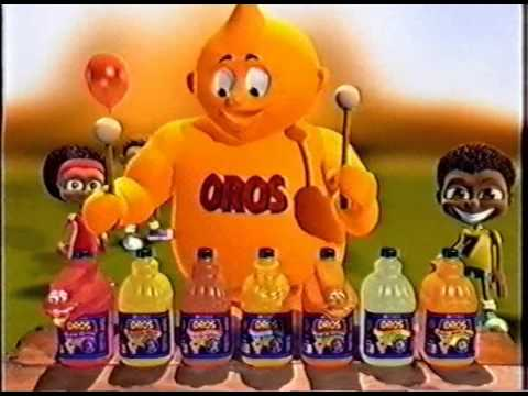 Oros old TV Advert - Flavour Drums