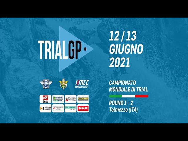 Campionato mondiale di trial ROUND 1 - 2 Tolmezzo ITA