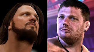 WWE 2K17 vs TNA IMPACT - 5 Big Names That Appeared In Both! (WWE 2K17 Top 5)