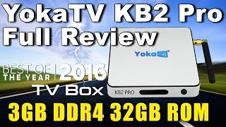 yokatv kb2 pro 3gb ddr4 full unboxing and review