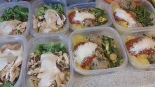 1hr. Bikini Meal Prep - Italian Inspired