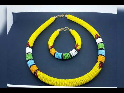 African Kenya Masai Handmade necklaces.