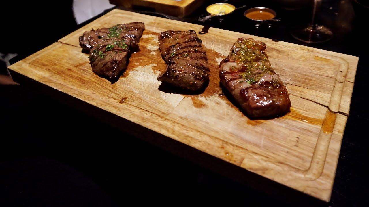 Tasting Great Argentinian Steak At Gaucho In London