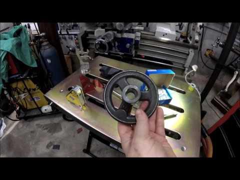 Cast Iron Handwheel Boring and Tapping