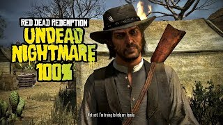 Red Dead Redemption: Undead Nightmare 100% Completion - Full Game Walkthrough (Xbox One X)