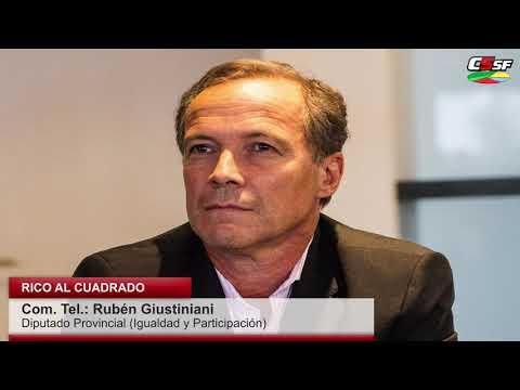 Giustiniani: El Presupuesto se discutió a espaldas de la gente