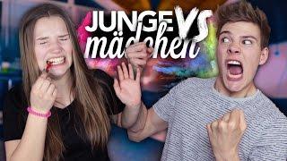 JUNGE VS MÄDCHEN - WER IST BESSER? mit Julia Beautx | Joey
