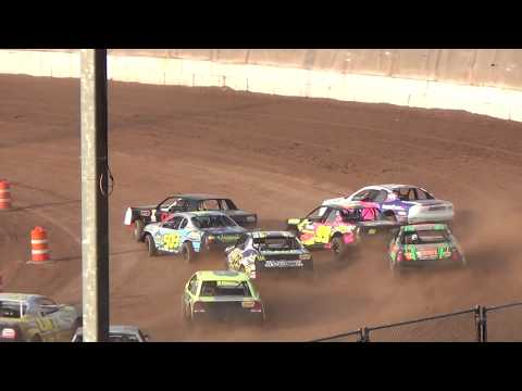 IMCA Stock Cars Heats 5/27/2018 @Outagamie Speedway Powered by EWSC