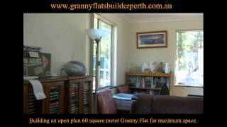building an open plan 60 square meter granny flat for maximum space