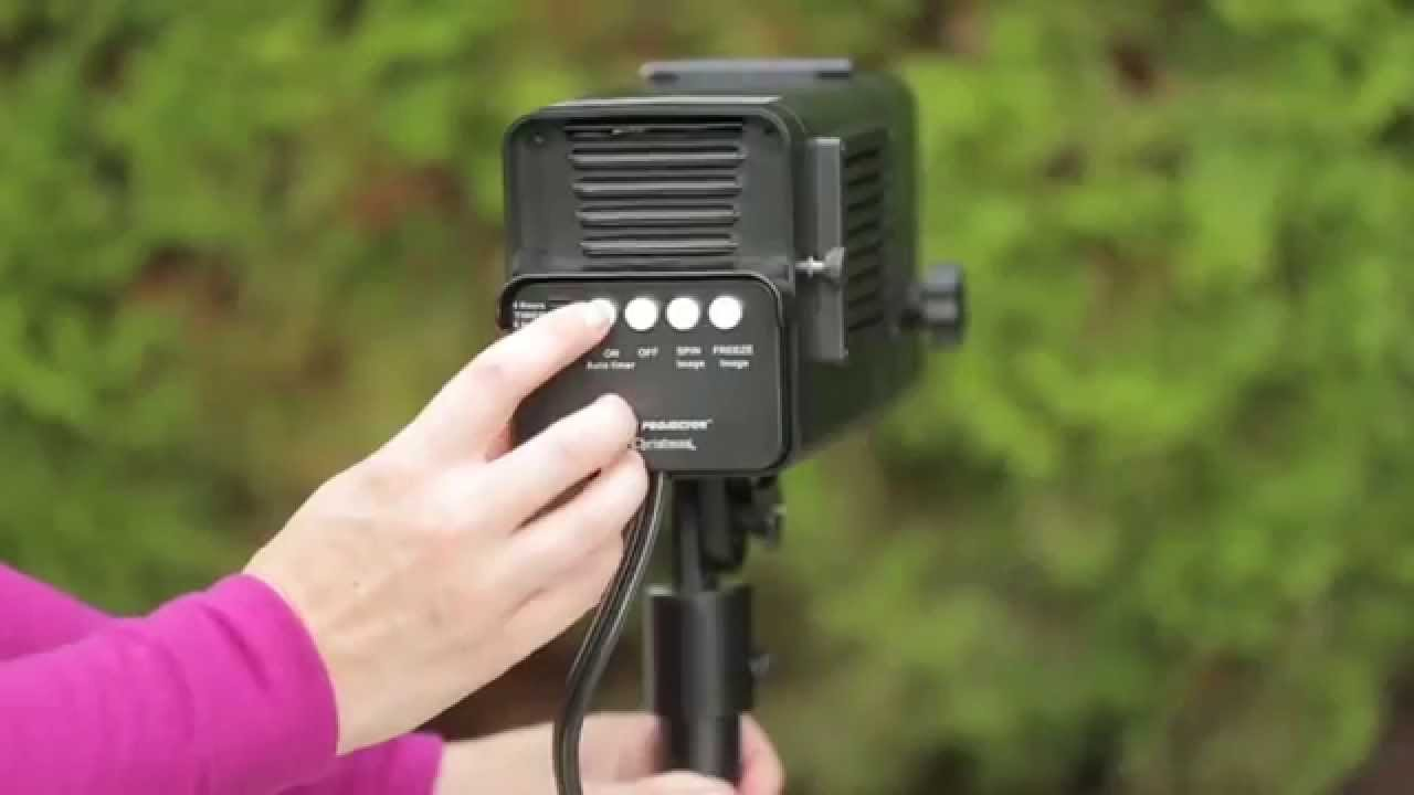 Mr Christmas Animated Holiday Projector - YouTube