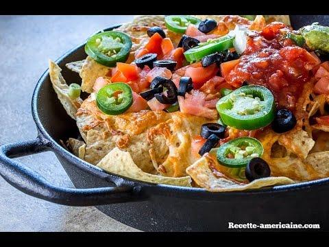 Recette des nachos la mexicaine youtube for Cuisine mexicaine