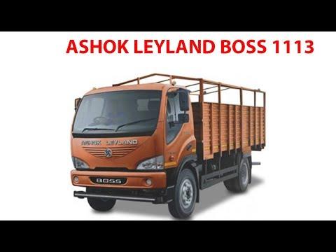 ASHOK LEYLAND BOSS 1113 - YouTube