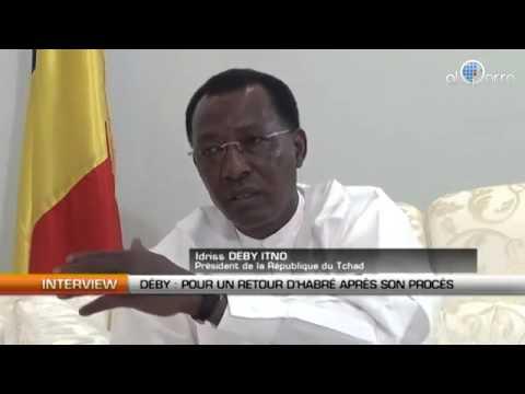 Interview-Idriss Déby, président du Tchad