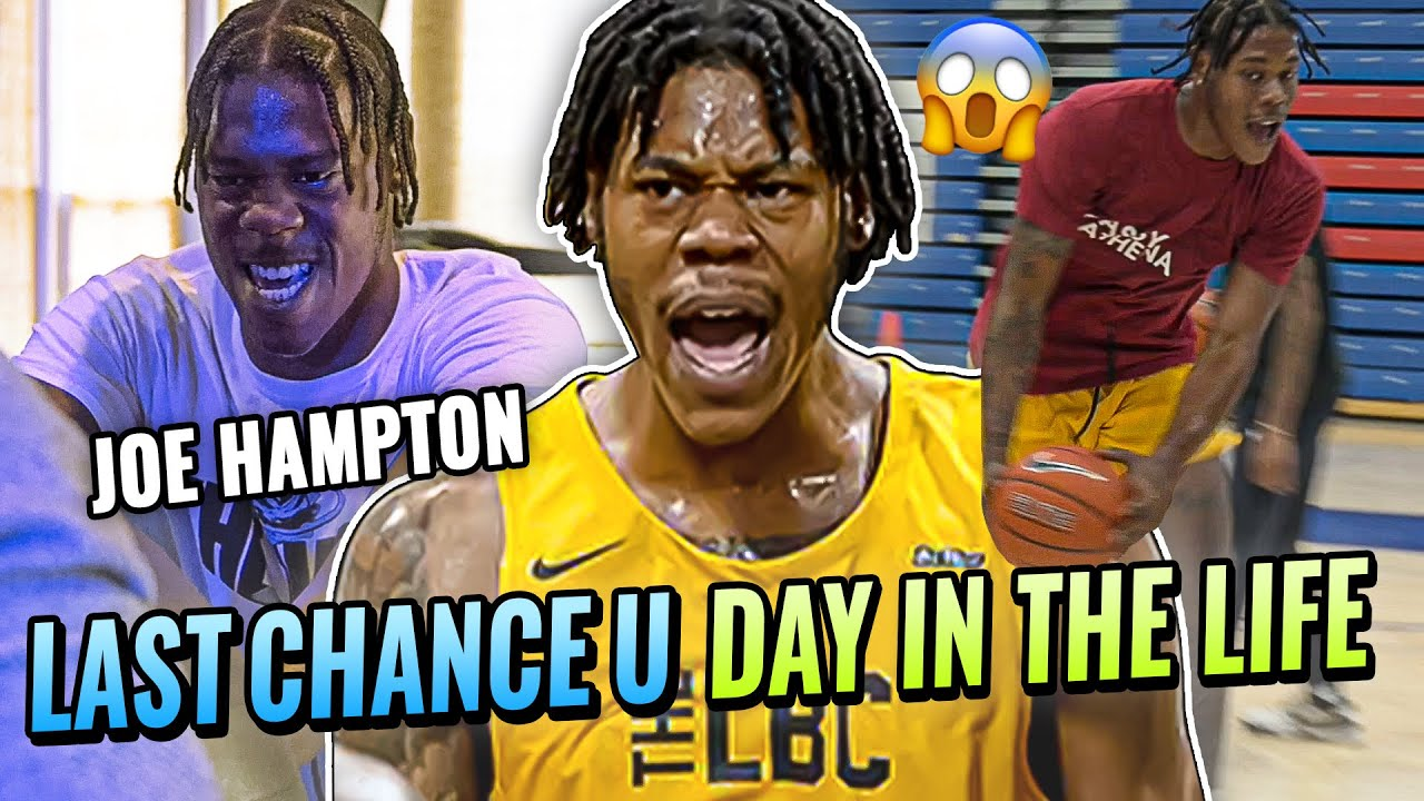 """Download """"Emotions Got The Best Of Me!"""" Last Chance U's Joe Hampton Is GRINDING For The NBA! Day In The Life"""