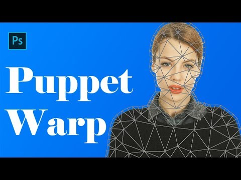 Puppet Warp In Photoshop | How To Use Puppet Warp In Photoshop In Hindi