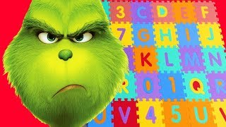 ABC Song | Grinch Pretend Play - Learning Alphabet for Kids