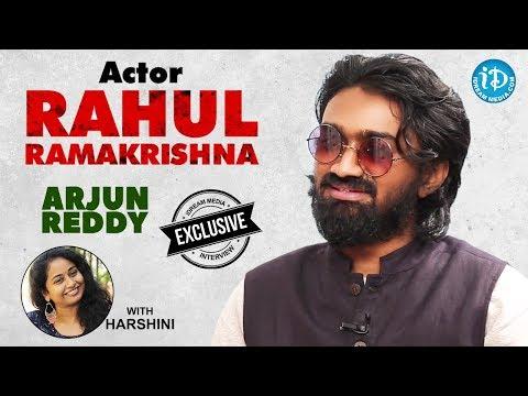 Arjun Reddy Movie Actor Rahul Ramakrishna Exclusive Interview || Talking Movies With iDream