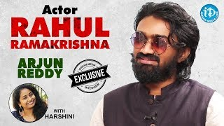 Arjun Reddy Movie Actor Rahul Ramakrishna Exclusive Interview || Talking Movies With iDream