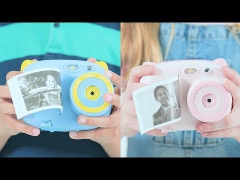 AMKOV Instant Print Digital Camera With WiFi