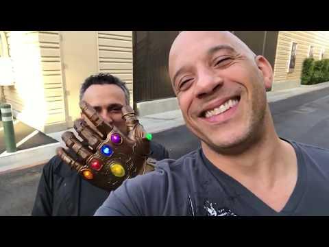 Avengers: Infinity War  Vin Diesel on Voicing Adolescent Groot