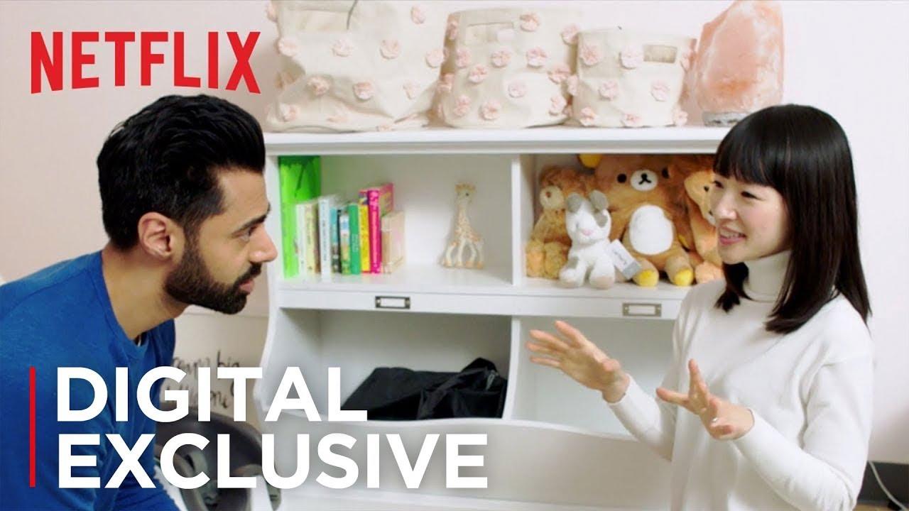 Marie Kondo's KonMari method sparks joy on Netflix as she