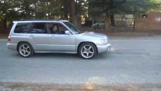 Subaru forester ST/b   (manual)  Launch 5k rpm