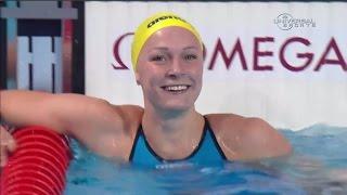 Sarah Sjostrom breaks World Record again - Universal Sports