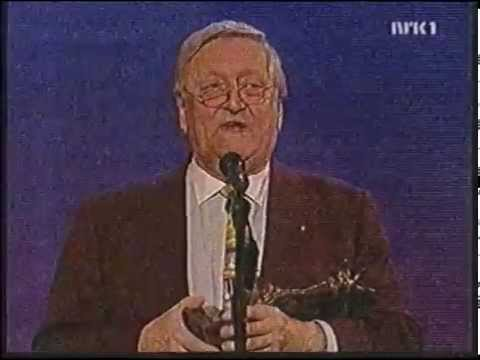 Rolv Wesenlund mottar komiprisens Hederspris