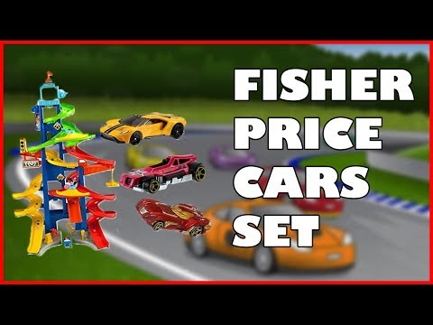 Michael's Fisher Price Car Slide!