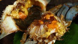 Ganjang-gejang (raw Crabs Marinated In Soy Sauce: 간장게장)