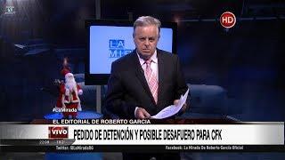 """Comentario editorial de Roberto García en su programa """"La mirada"""" - 11/12/17"""