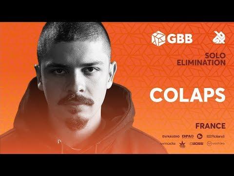 COLAPS   Grand Beatbox Battle 2019   Solo Elimination