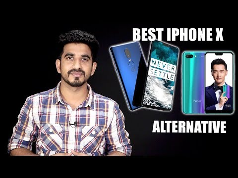 Best iPhone X alternative (Android phones, copycat) in India | May 2018 [Hindi हिन्दी]